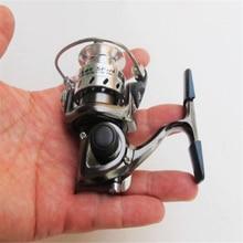 Hot MINI fishing reels MN100 Metal Body Bait Casting Spinning Boat Ice Fishing Reel Fish Water Wheel Small Reel Raft Lure Wheel