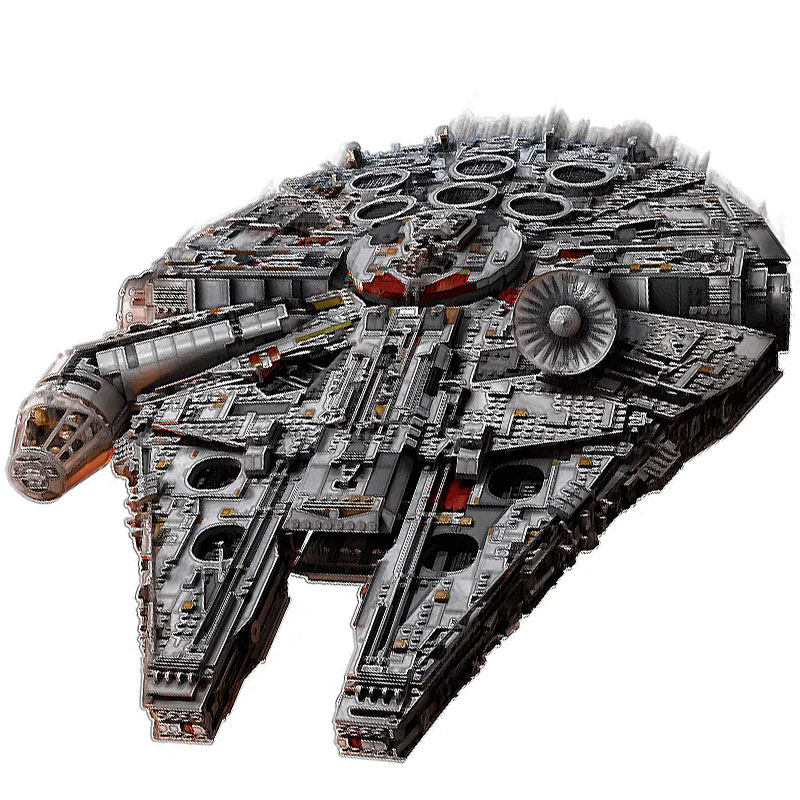 star wars series action figure stormtrooper model storm cavalry star wars building blocks blocks lepinblocks kids toys gift toys Model-Toys Star Series Building Blocks Kits Millennium Destroyer Ship Falcon Wars Compatible With 75192 8445pcs