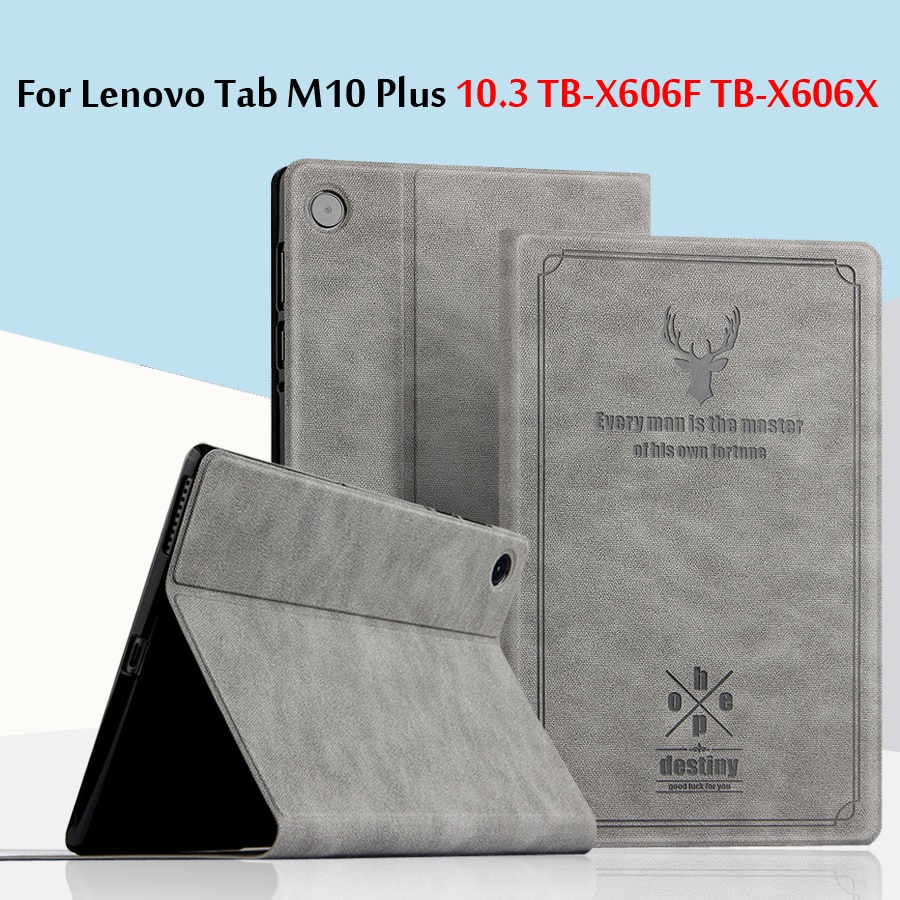 "Fall Für Lenovo Tab M10 Plus 10,3 TB-X606F TB-X606X schutzhülle PU Leder Für Lenovo TAB M10 FHD Plus 10.3 ""Tablet Fall"