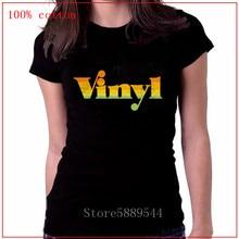Fashion Disco Funky House Music T-Shirt Soul 70s 80s Club Retro Vinyl Record Tshirt Turntables Rock DJ women Hip Hop Clothing