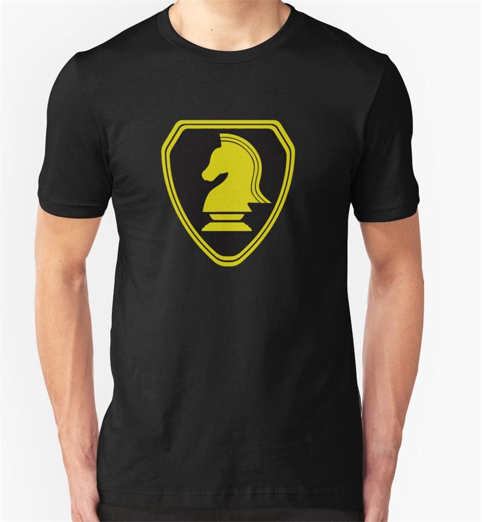 Industrias Knight T camisa coche Vintage Kitt Knight Rider de impresión personalizado camiseta