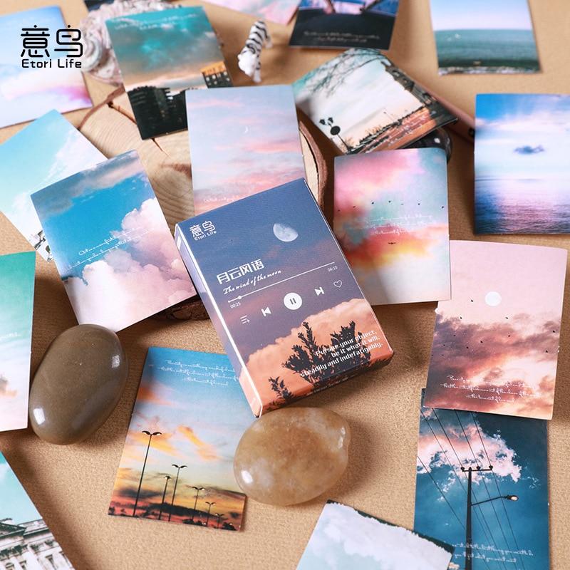 30-uds-papel-washi-stiker-conjunto-atardecer-paisaje-azul-adhesivo-de-cielo-pegatinas-para-albumes-de-recortes-de-diario-carta-tarjeta