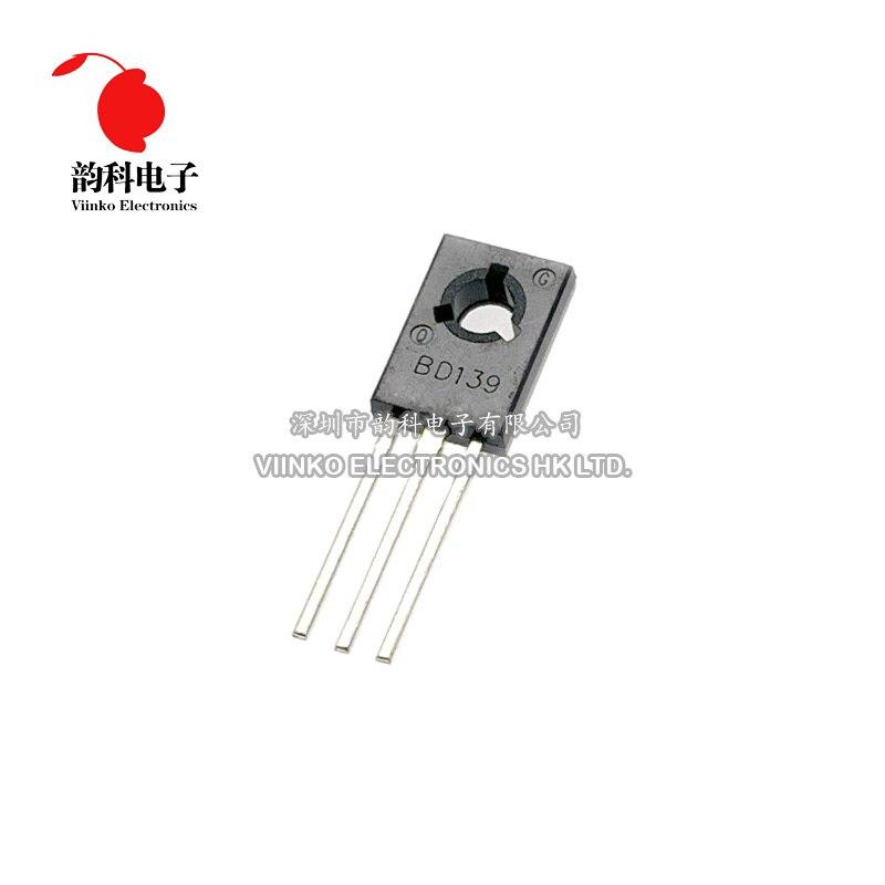50 шт. BD139 TO-126 NPN силовой транзистор
