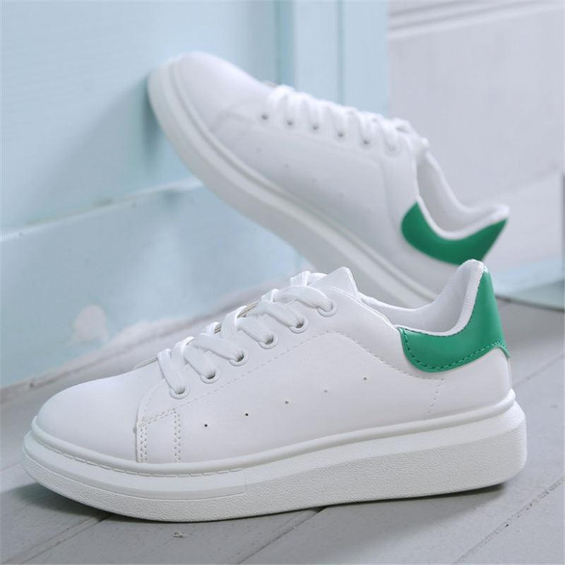 Weiße Turnschuhe Frauen Hohe qualität sport schuhe frau chaussure homme Echtem Leder laufschuhe frauen Trainer scarpe donna