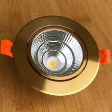 CREE 10W 12W LED Downlight Dimmable blanc chaud Nature blanc naturel encastré LED lampe Spot lumière AC85V-265V