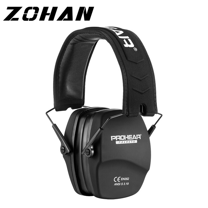 ZOHAN  noise cancelling hunting Hearing Protection Safety  Earmuffs ear defenders Adjustable Shooting Ear Protection Protector zohan noise cancelling hunting hearing protection safety earmuffs ear defenders adjustable shooting ear protection protector