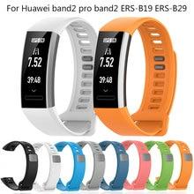 Cinturino di ricambio per cinturino in Silicone Huawei Band 2 ERS-B19 ERS-B29 per cinturino Huawei Band 2 Pro Smart Watch