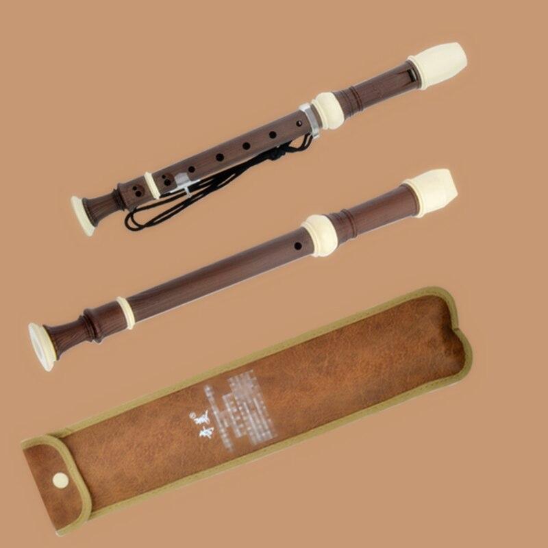 Soprano Germanic 8 Hole gaita Recorder Clarinet Flute C Key Chinese Vertical Flute blokfluit registratore estuche flauta colegio enlarge