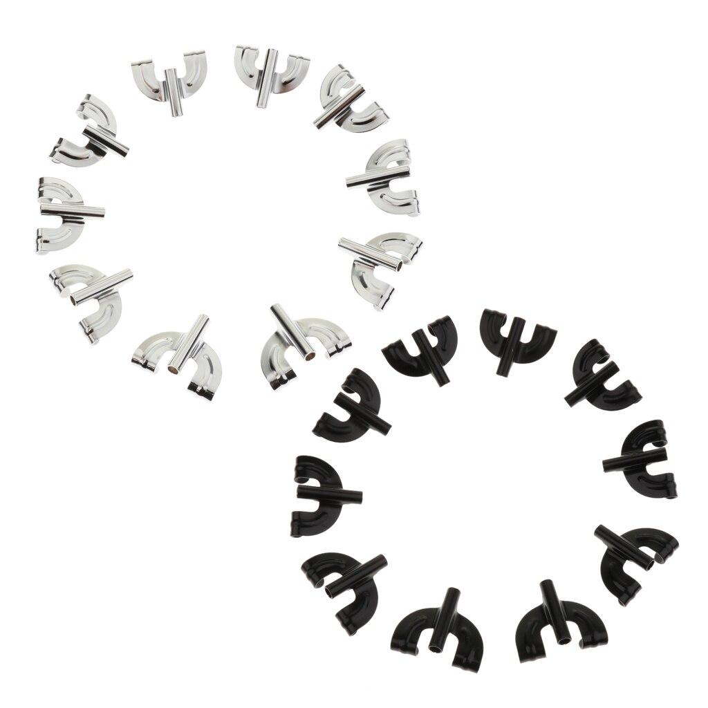 Tooyful-gancho de garra de tambor, accesorios de piezas de tambor, 10 Uds.
