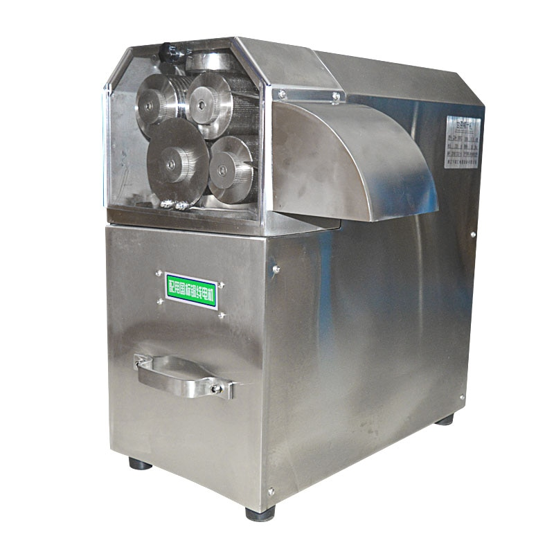 Máquina vertical de jugo de caña de azúcar máquina exprimidora de 4 rodillos, trituradora de caña, exprimidor de caña de azúcar 110 v/220 v/380 v