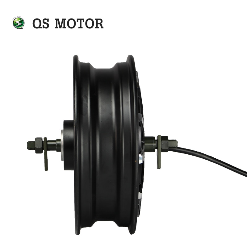 QS Motor 12inch 2000W 260 V4 60kph Hot Sale BLDC Motor Brushless And Gearless In Wheel Hub Motor For Electric Scooter enlarge
