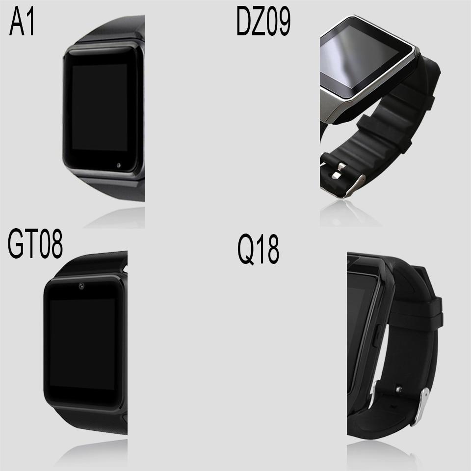 A1 smartwatch 2020 smart watch men/android/women smarthwatch or GT08/Q18/DZ09 watches DropShipping