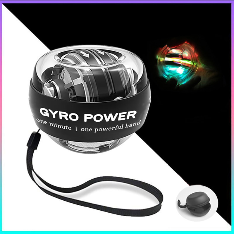 Newest LED Wrist Ball Self-starting Fidget Spinner Adult Stress Reliever Toys Gyroscopic Powerball Arm Force Trainer Equipment enlarge