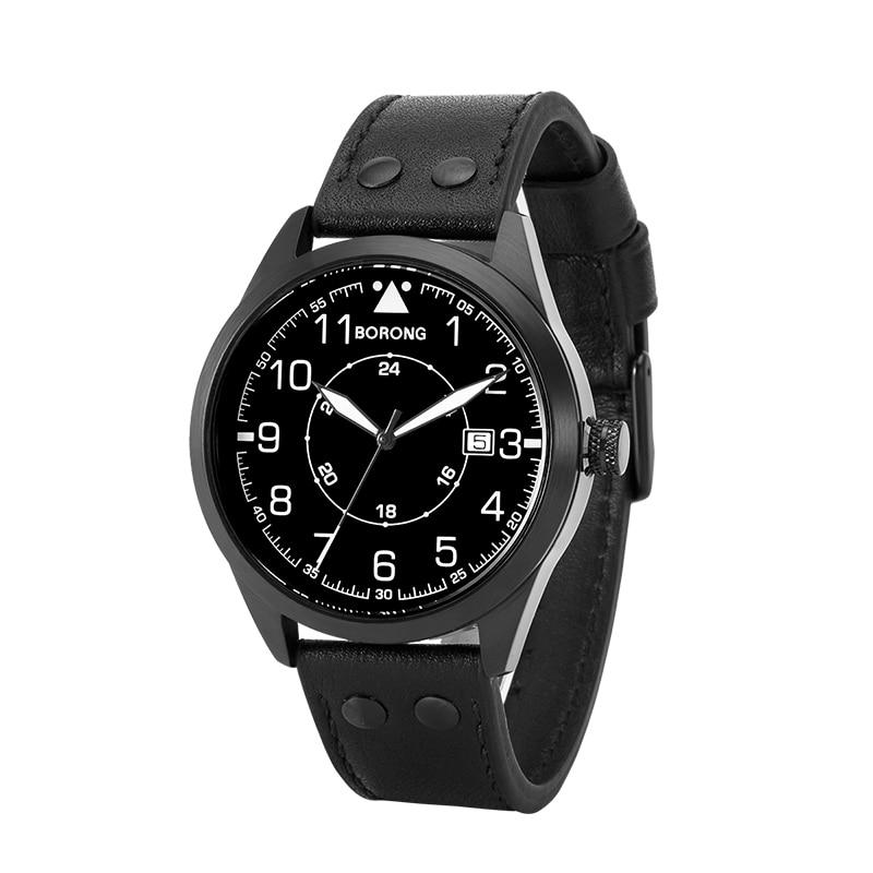 Men's Watch Leather Strap enlarge