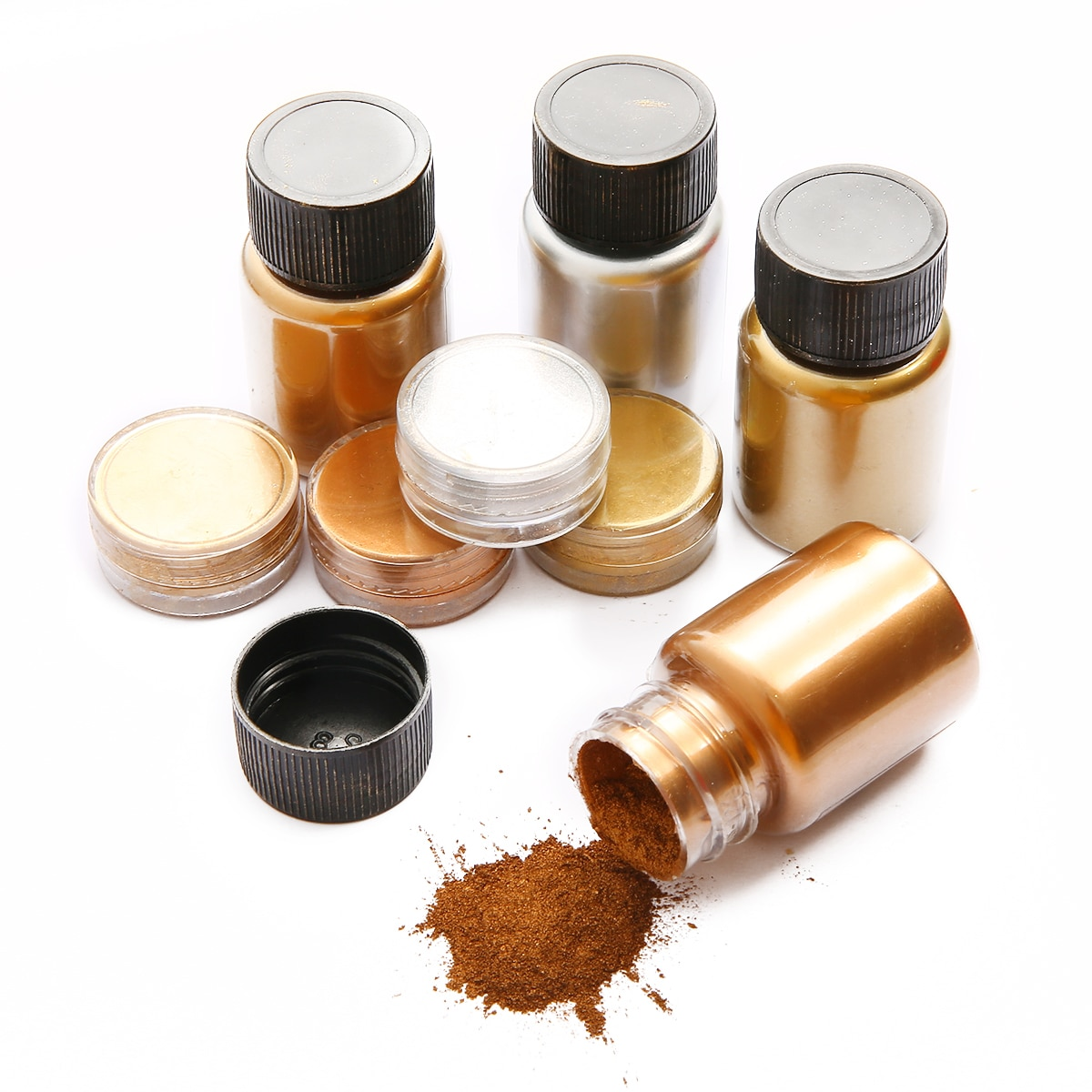 3-25g-shimmer-metallic-gold-silver-color-pigment-powder-colorant-pearl-pigment-dye-uv-resin-epoxy-color-jewelry-findings-making