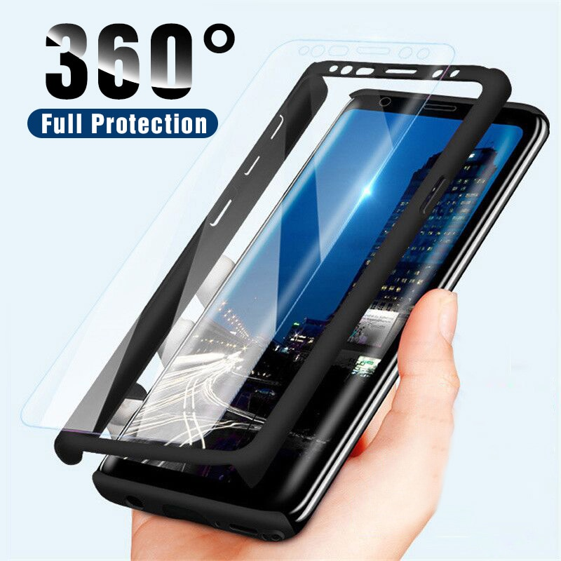 360 Full Shockproof Phone Case For Samsung Galaxy S10 S9 S8 Plus Protective Cases Samsung Note 10 Pr