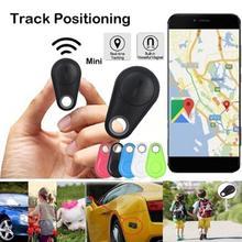 ใหม่สมาร์ท Wireless 4.0 Anti Lost Finder Tracker ปลุก GPS Locator ไร้สายตำแหน่งกระเป๋าสตางค์กระเป๋าสตางค์สำหรับสัตว์เลี้...