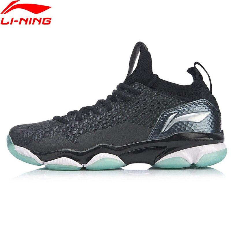 Li-Ning Для мужчин SONIC BOOM 2,0 профессиональный бадминтон спортивная обувь Подушка TUFF наконечник носки внутри Ли Нин спортивная обувь AYZP001-1