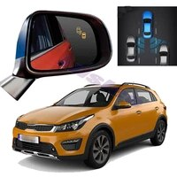 car bsm bsd bsa radar warning safety driving alert mirror detection sensor for kia kx cross rio x line 2017 2018 2019 2020