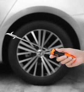 Image 4 - Универсальный очиститель камня для автомобильных шин и мотоциклов, канавка для удаления сломанного камня, для очистки шин, для удаления гравия, крючков