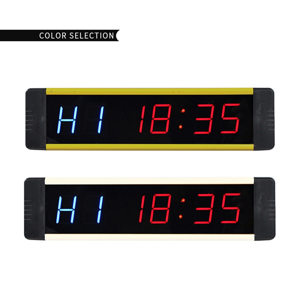 Ganxin Overseas warehouse products 1 Inch Programmable Gym Fitness Training Timer Countdown Interval