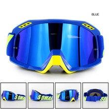 Motocross lunettes casque moto lunettes saleté vélo conduite lunettes de soleil pour Soman SM15