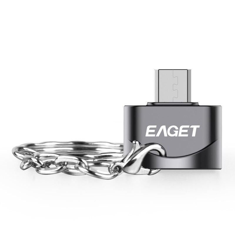 Интерфейс EAGET EZ02-M микро адаптер OTG функция превращается в телефон USB флэш-накопитель мобильные телефоны адаптеры
