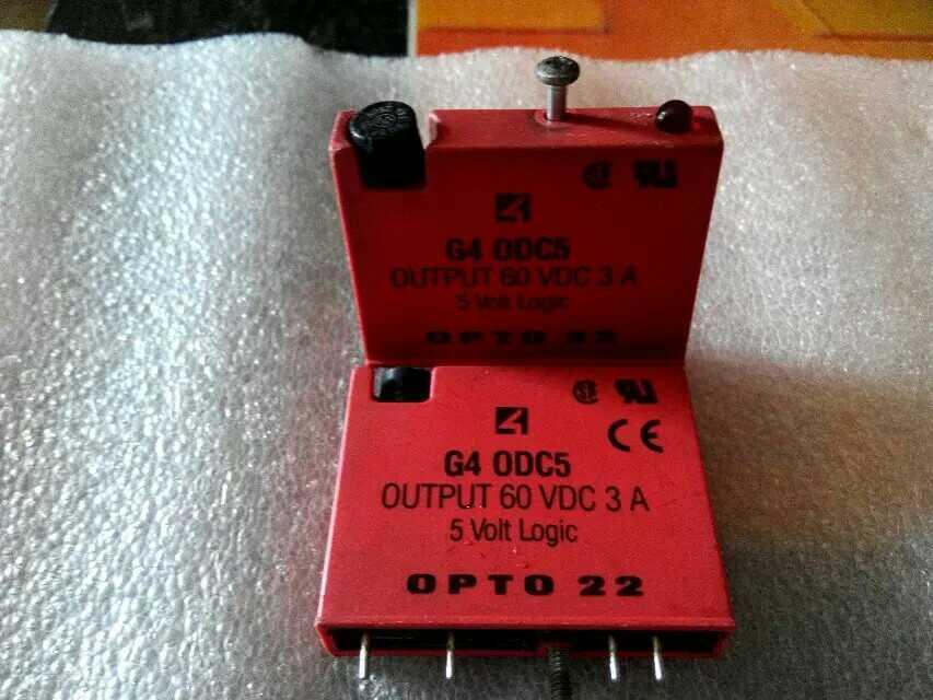 Envío gratis 10 uds/lote sólido eléctrica relé de OPTO 22 G4 ODC5OUTPUT 60VDC 3A