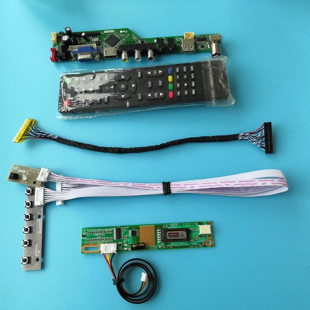 ل LP154WE2-TLA7 لوحة واجهة وحدة وحدة تحكم USB 30pin إشارة رقمية 1 مصابيح 15.4