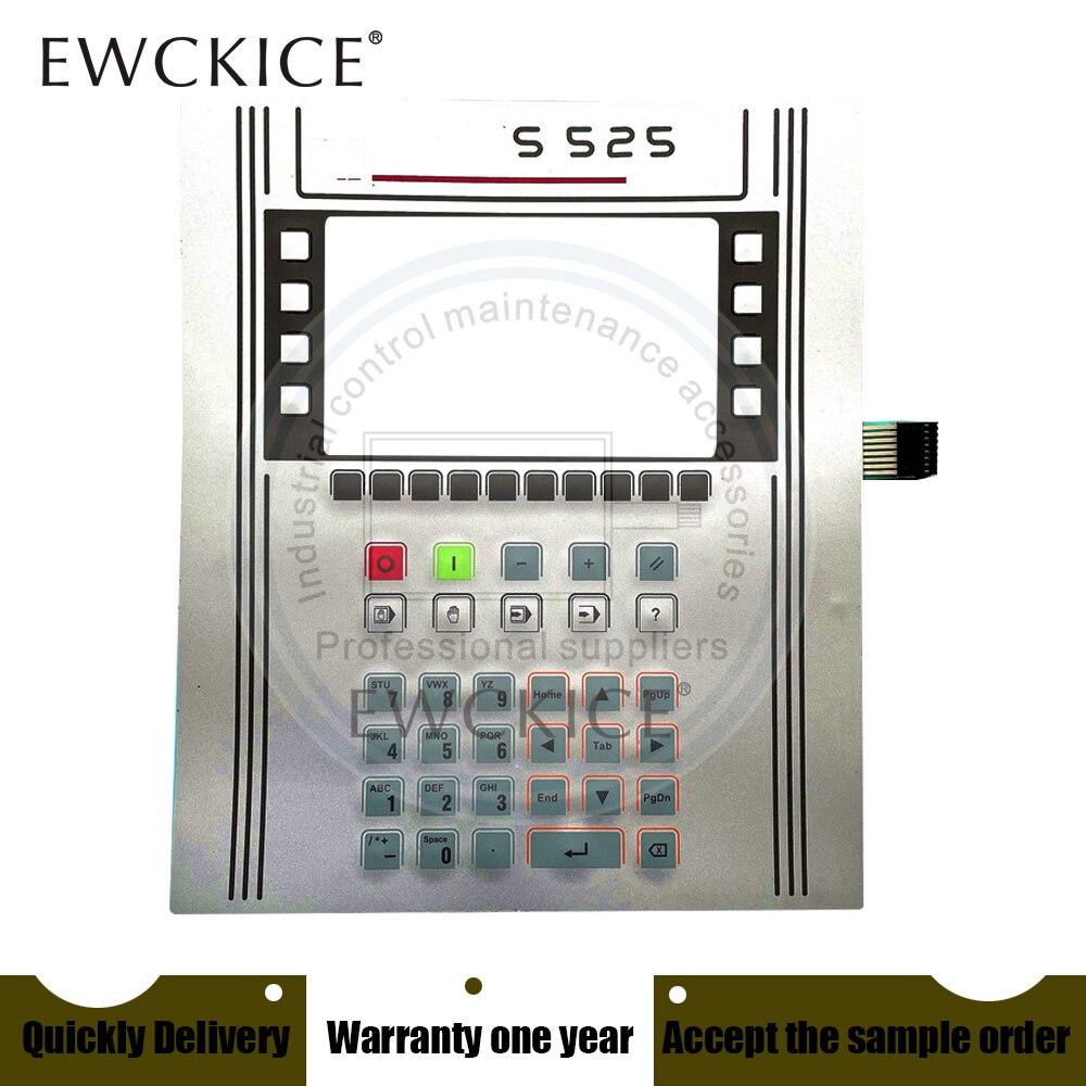 NEW S525 SS2S 5525 5S2S  HMI PLC Membrane Switch keypad keyboard
