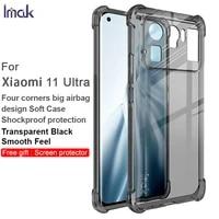 for xiaomi mi 11 ultra case imak shockproof conners airbag soft tpu transparent back cover for xiaomi mi11 ultra funda coque