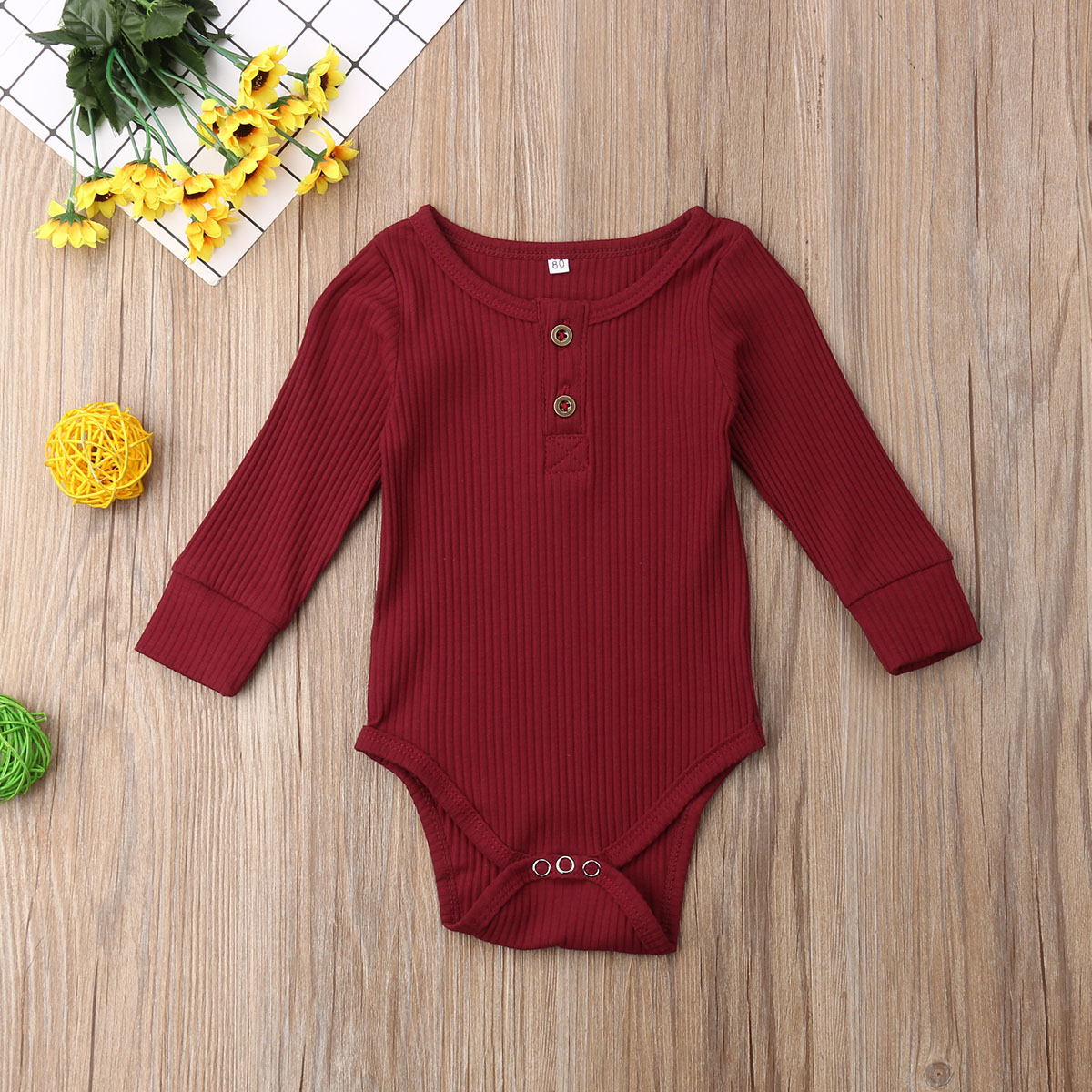 baby girl clothes autumn lattice knitted baby clothes newborn baby girl romper cotton baby cardigan sweater romper jumpsuit Newborn Baby Boy Girl Clothes Solid Color Long Sleeve Knitted Cotton Button Romper Jumpsuit Outfit Baby Clothes
