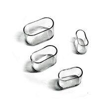4 pezzi ovali sedia gambe pad mobili tavolo coperture tappi piedi protettore calzini copertura antipolvere mobili antiscivolo piedini di livellamento all'ingrosso