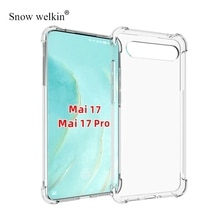 For Meizu 17 Case Airbags Buffer Full Protection Case For Meizu 17 Pro 17Pro 6.6 inch Case Clear Sof
