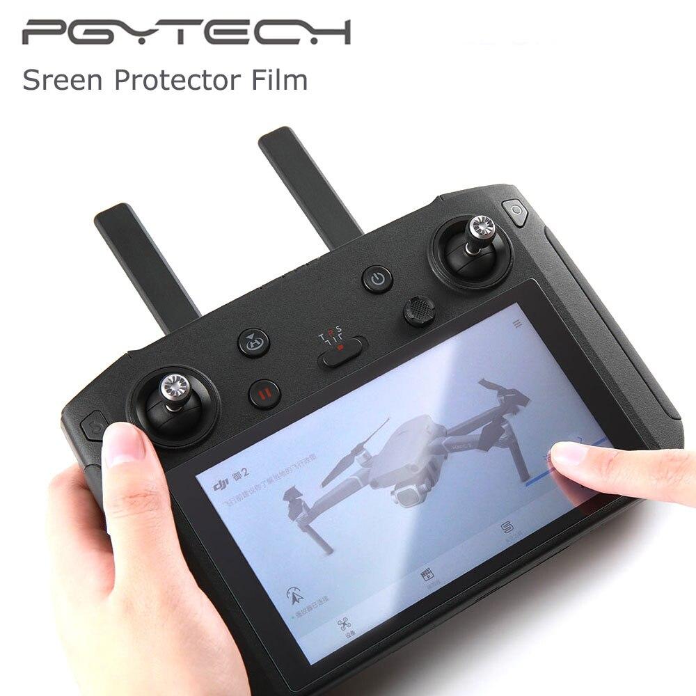 PGYTECH 5,5 pulgadas 9H DJI controlador inteligente protector de pantalla de vidrio templado película para protección para DJI Mavic 2 Pro/accesorios de Zoom