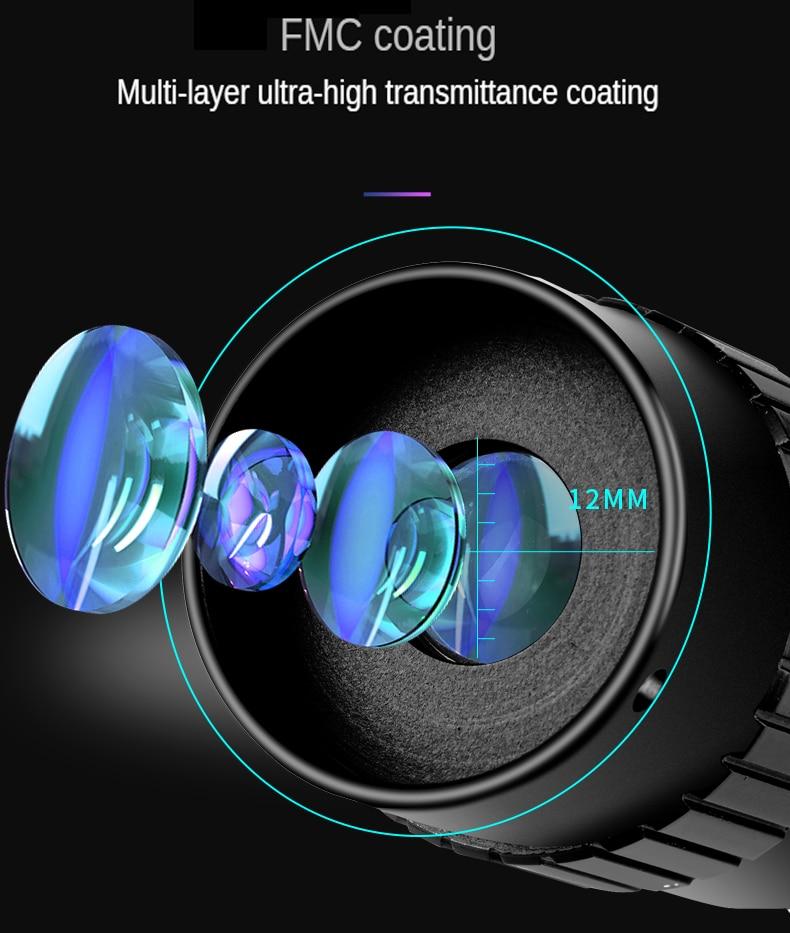 10-300X40mm Super Zoom Monocular Telescope Binoculars BAK4-Prism Body Steel Take Photo 4K Video Low Light Night Vision Camping enlarge