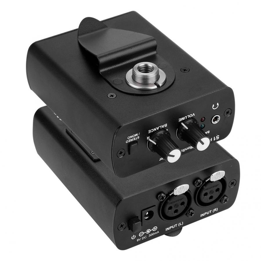 Persönliche Ohr Monitor Kopfhörer Verstärker In-ohr Überwachung System Für ANLEON S1 in Bühne Studio 100-240V UNS EU AU Stecker Optional