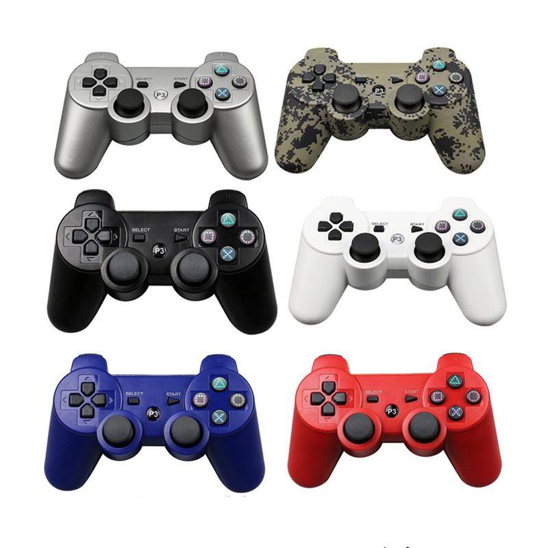 Bluetooth wireless Controller For SONY PS3 Gamepad For Play Station 3 Wireless Joystick For Sony Playstation 3 PC Controle support bluetooth wireless controller for sony ps3 gamepad for ps3 console joystick for sony playstation 3 pc for dualshock