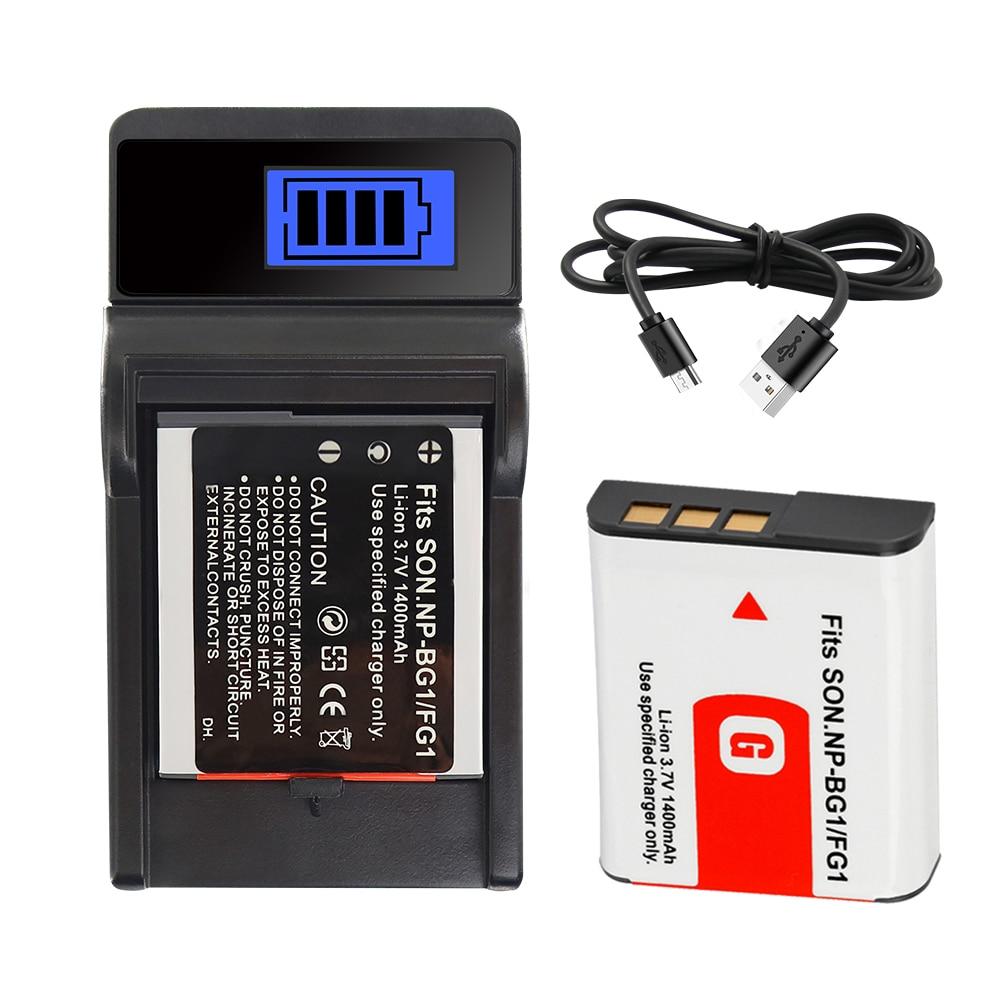 NP NP BG1 FG1 Bateria para Sony Cyber Shot-DSC-W100 DSC-WX1 H3 H7 H9 DSC-H10 DSC-H20 DSC-H50 DSC-H55 Npbg1 Batterie 1400mah
