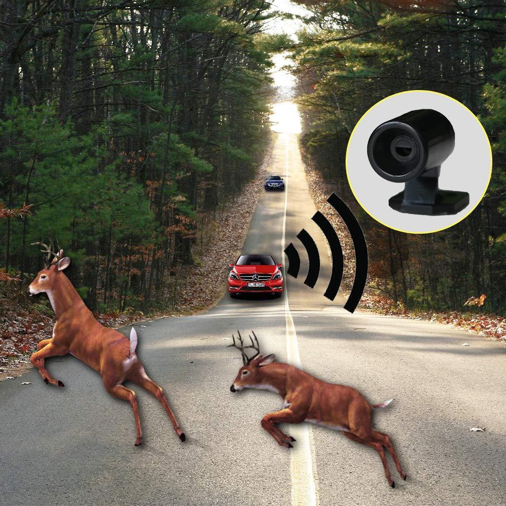 Новый 6 шт. животных предупреждающий свисток ультразвуковой автомобиль олень животное сигнал тревоги свистки безопасности звуковой сигнал для автомобиля внедорожник Мотоцикл