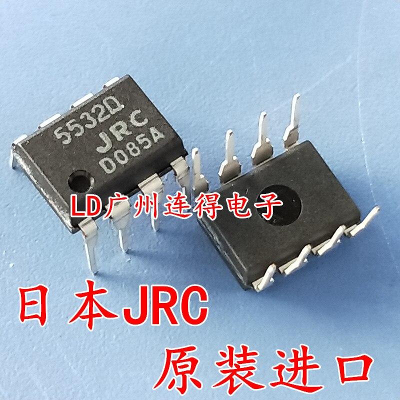 10PCS NJM5532D JRC5532D importado original