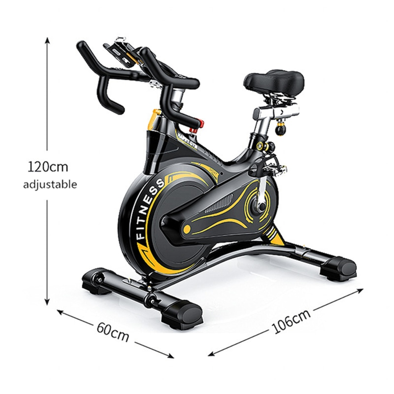 Spinning Exercise Bike Fitness Sports Home Family bicicleta estatic GYM Cycling Equipment Smart Mute