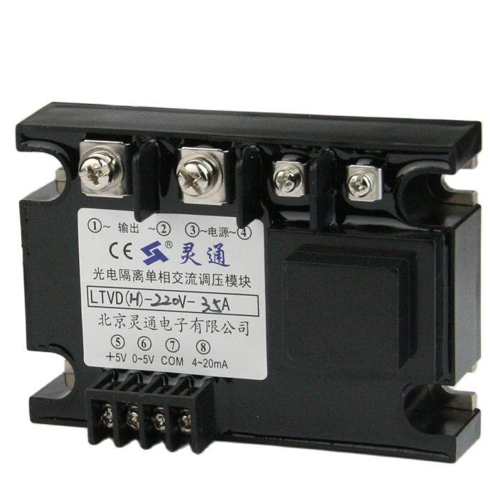وحدة تنظيم الجهد المتردد أحادية الطور معزولة كهربائيا ، وحدة تنظيم الجهد المعزولة بالكامل LTVDH-220V-35A
