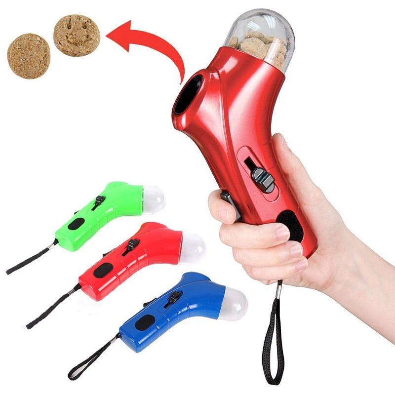 Креативная Собачья еда лакомство Launcher Pet Snack мини кормушка катапульта интерактивные игрушки для питомцев инструменты для обучения прыжкам кормушка для собак