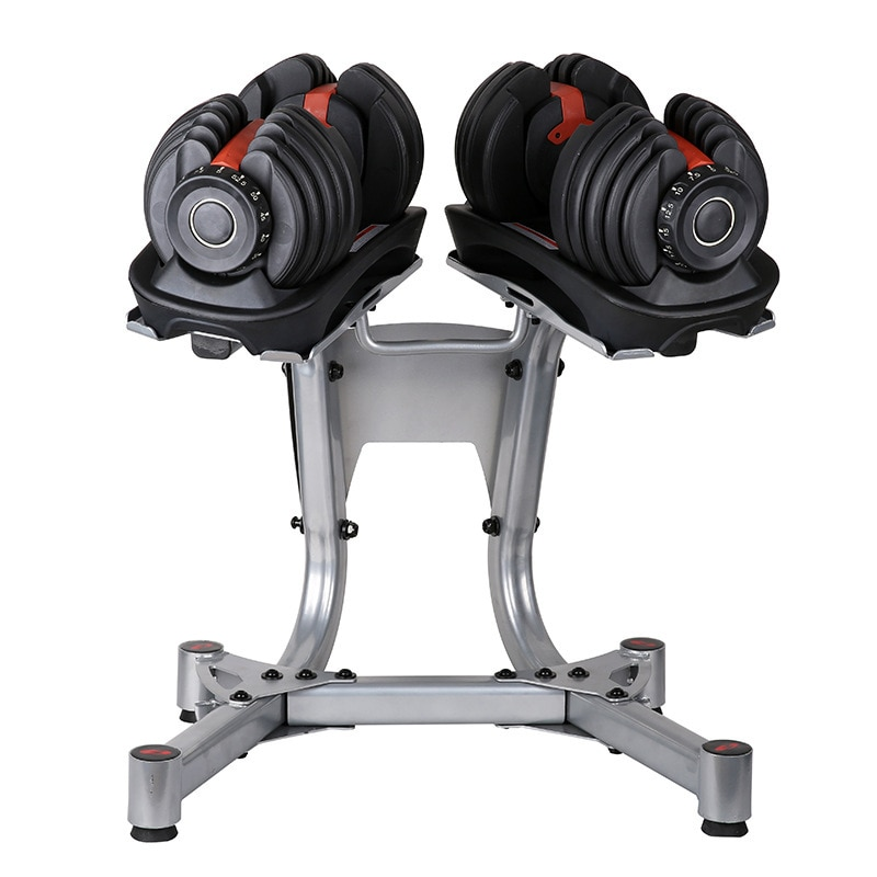 Home Indoor Sports Strength Training High-Quality Alloy Made Of Movable Weight Lifting Dumbbell Stand