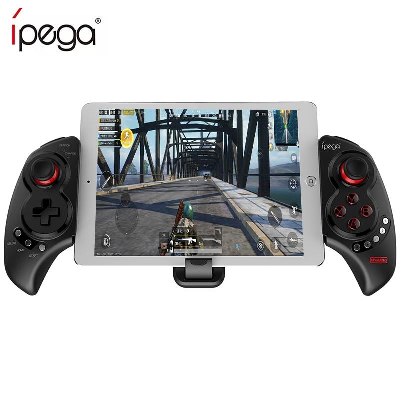 IPEGA PG-9023S غمبد سماعة لاسلكية تعمل بالبلوتوث 5.0 لعبة وحدة تحكم جويستيك Joypad أندرويد IOS ل PS3 هاتف لوحي PC tv box