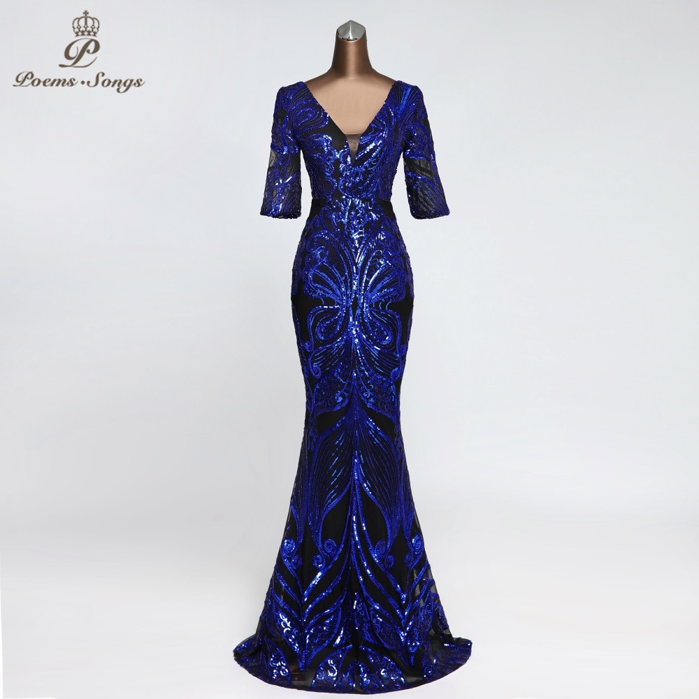 فستان سهرة طويل على شكل فراشة ، نصف كم ، ثوب جذاب ، ملابس نسائية أنيقة