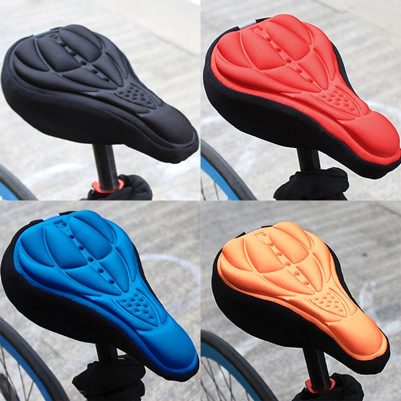 Bicycle Saddle 3D Soft Bike Seat Cover Comfortable Foam Seat Cushion Cycling Saddle for Bicycle Bike Accessories Bicycle