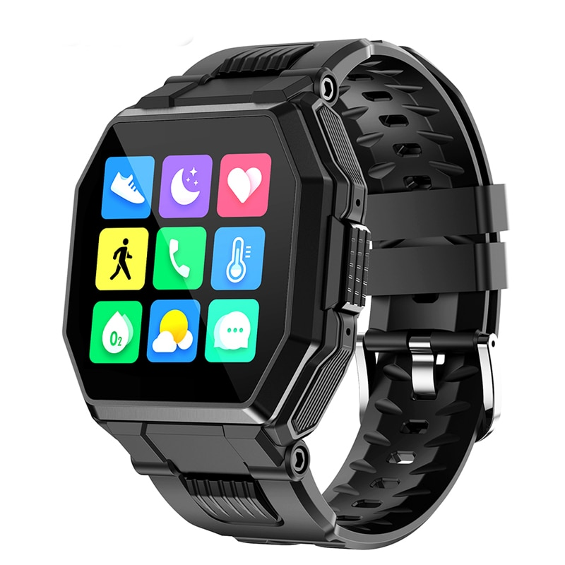 AliExpress - S9 Bluetooth Call Smart Watch  Men Full Touch IP67 Waterproof  Sports Fitness Tracker Blood Pressure Heart Rate Smartwatch