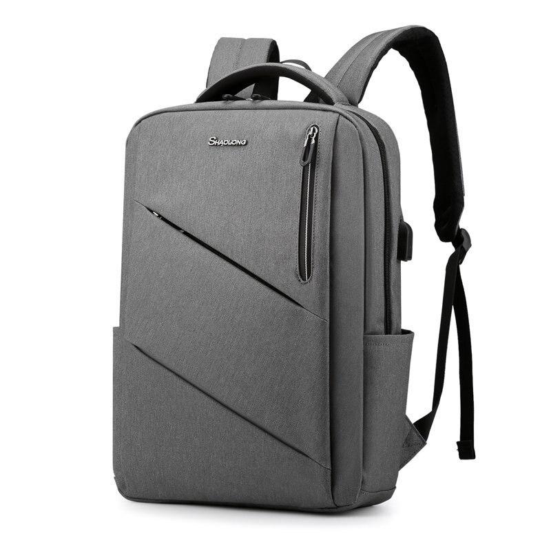 Computador portátil mochila masculino homem mochilas de negócios notebook à prova dwaterproof água de volta pacote de carregamento usb sacos de viagem bagpack